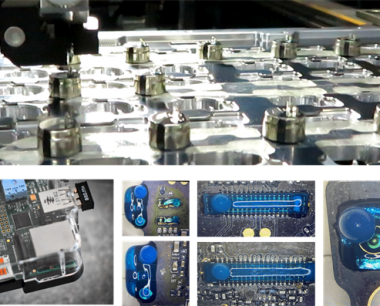 Type-C充电接口点胶应用