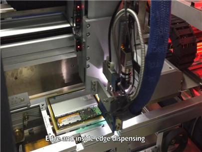 PCBA板热熔点胶